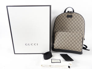 Gucci GG Supreme Monogram Backpack