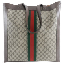 Load image into Gallery viewer, Gucci Ophidia Brown Monogram Soft GG Supreme Large Tote Bag