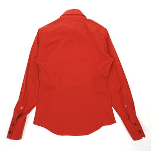 Gucci Red Fitted Shirt Size 38