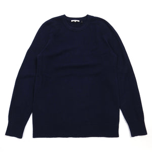 Helmut Lang Navy Cashmere Sweater Large