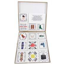 Load image into Gallery viewer, Hermes Holiday Cards Memory Game Gift Set
