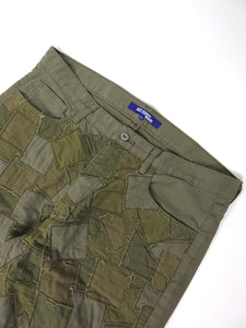 Junya Watanabe 2006 Patchwork Trouser Green Medium