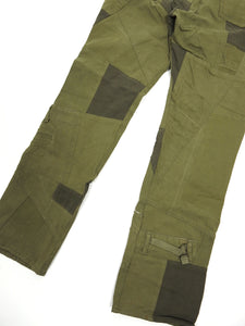 Junya Watanabe AW'06 Green Patchwork Trousers Large