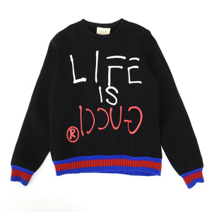 Gucci FW'16 Life is Gucci Sweater Fits Large
