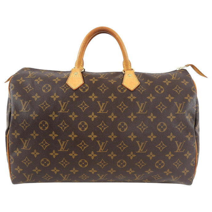 Louis Vuitton Monogram Speedy 40 Keepall Duffle Bag