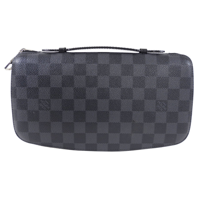 Louis Vuitton Damier Graphite XL Zippy Organizer Wallet