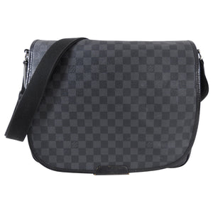 Louis Vuitton Damier Graphite District Messenger Laptop Bag