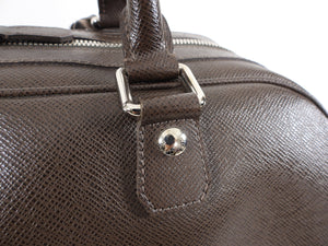 Louis Vuitton Brown Taiga Leather Stanislav Travel Duffle Bag