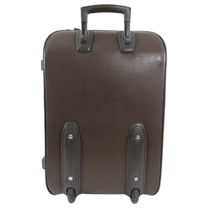 Louis Vuitton Brown Taiga Leather Pegase 55 Travel Rolling Luggage