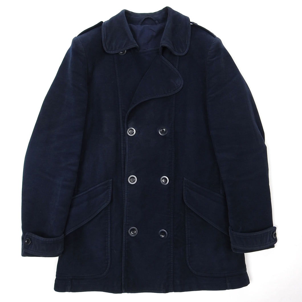 Margiela Navy Peacoat Size 52