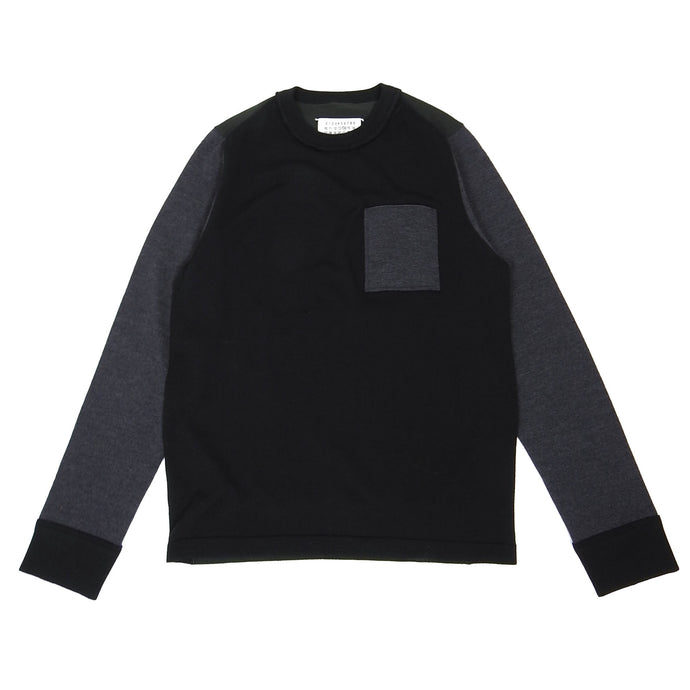 Margiela Knit Sweater Navy Medium