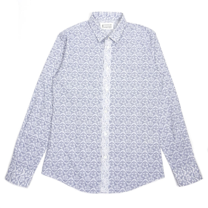 Margiela Lace Button Up Size 48