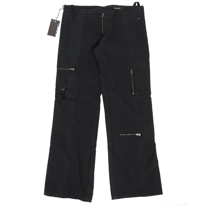 Neil Barrett Multi Zip Trouser Black Size 54