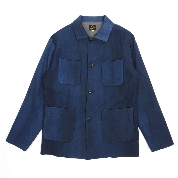 Needles Navy Wool Jacket Size Small