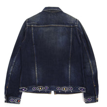 Load image into Gallery viewer, Number (N)ine Jewel Denim Jacket Size 3