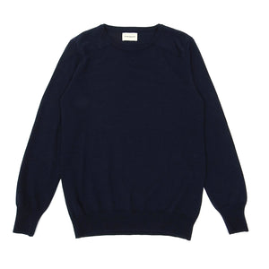 Oliver Spencer Navy Wool Knit Small