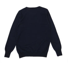 Load image into Gallery viewer, Oliver Spencer Navy Wool Knit Small
