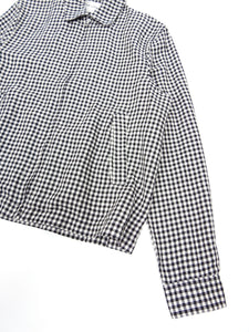 Our Legacy Black Gingham Linen Jacket Size 46