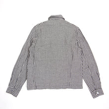 Load image into Gallery viewer, Our Legacy Black Gingham Linen Jacket Size 46