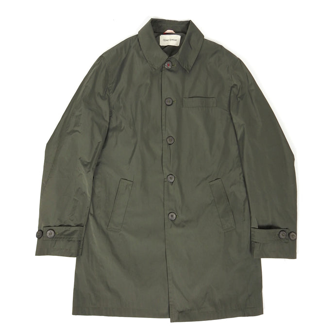 Oliver Spencer Coat Green Size 40