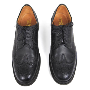Oliver Spencer Black Brogue Size 11