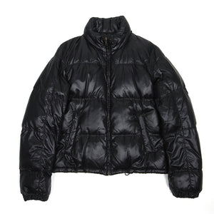 Prada Black Down Puffer Coat Size 48