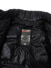 Load image into Gallery viewer, Prada Black Down Puffer Coat Size 48