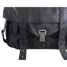 Load image into Gallery viewer, Proenza Schouler PS1 Extra Large Black Leather and Nylon Bag