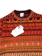 Load image into Gallery viewer, Paul Smith Knit Sweater Orange Medium
