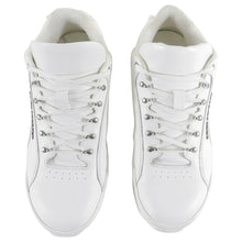 Load image into Gallery viewer, Saint Laurent White Leather Jump Sneaker - 10