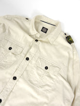 Load image into Gallery viewer, Stone Island Button Up Off-White Fits L/XL