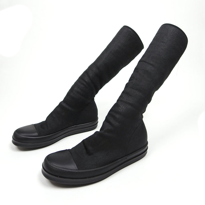 Rick Owens High Sock Sneakers Size 43