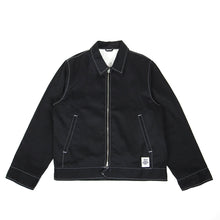 Load image into Gallery viewer, Stussy x Dickies x Affix Work Jacket Black Large