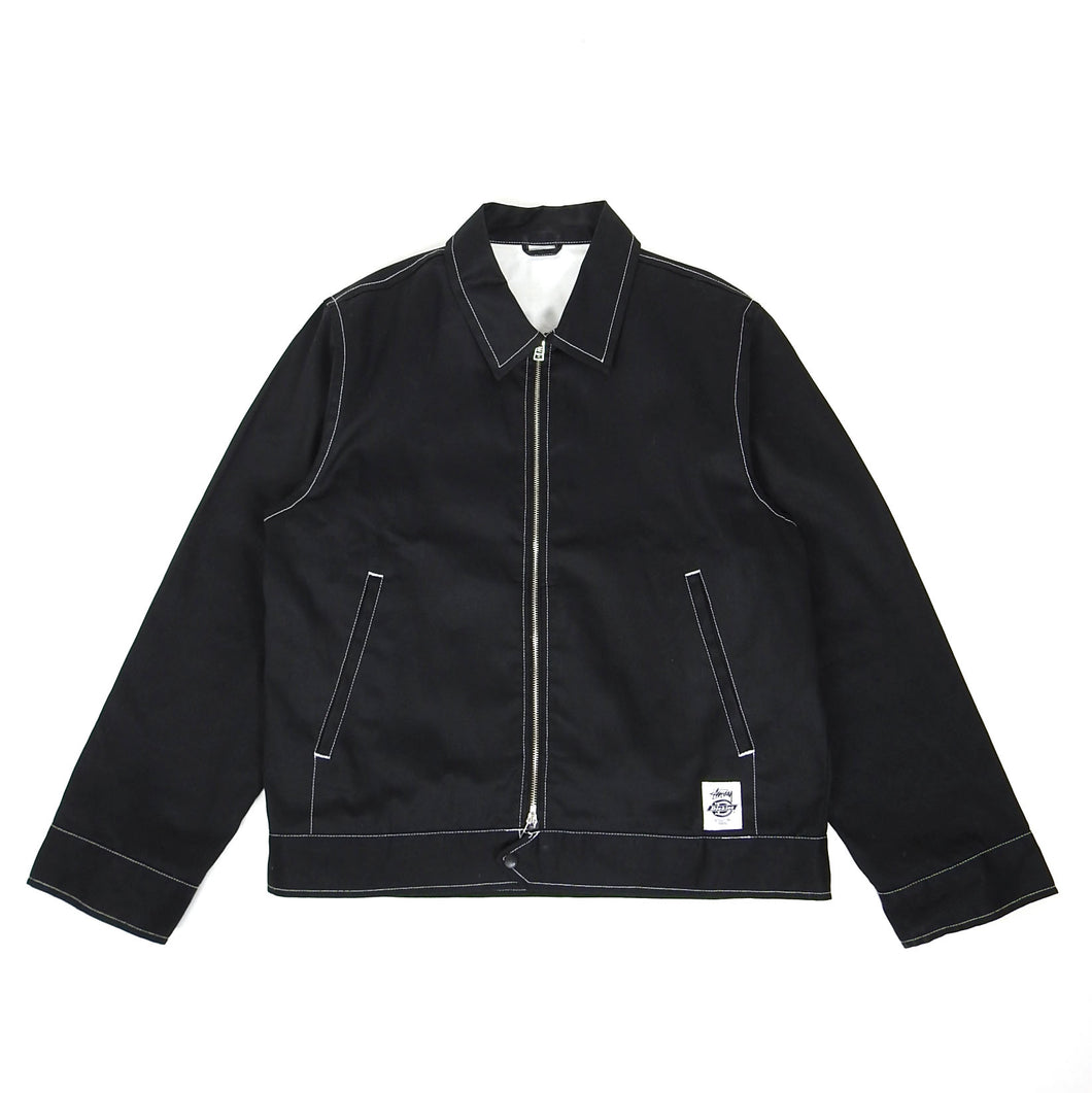 Stussy x Dickies x Affix Work Jacket Black Large