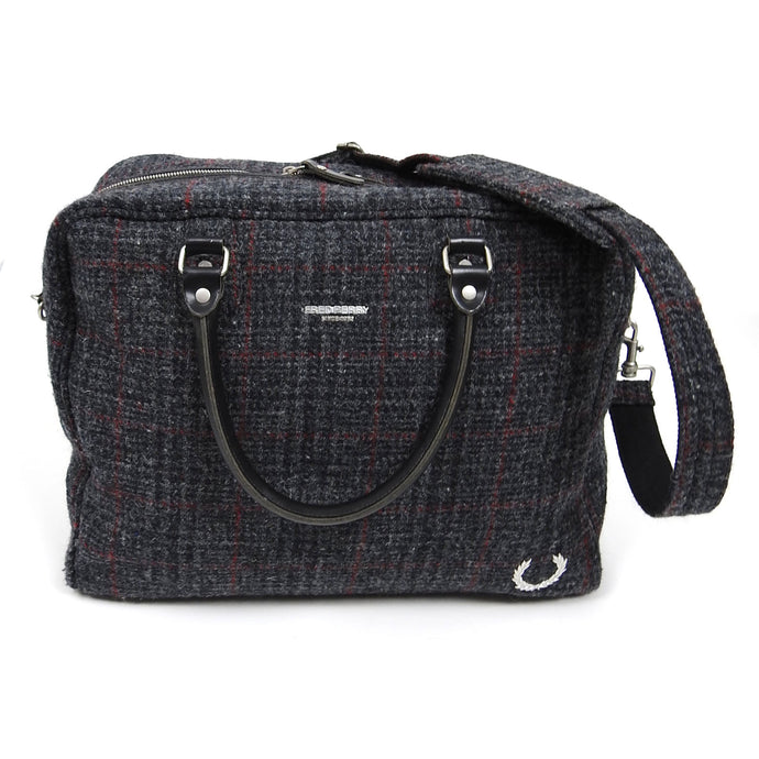 Fred Perry x Harris Tweed Bag