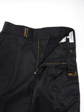 Load image into Gallery viewer, Yves Saint Laurent Rive Gauche BlackSilk Blend Trousers Size 42 (US 28)