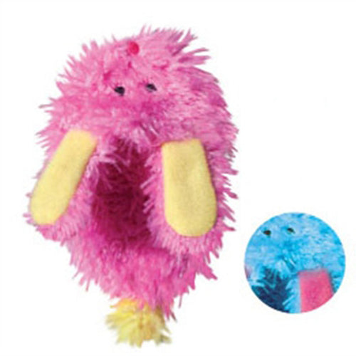 KONG Refillable Catnip Toy - Fuzzy Slipper