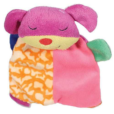 Lil Spots Plush Blanket Dog Toy