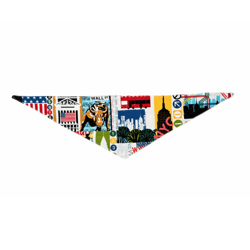 Patriotic Pet Line Dog Bandana by Push Pushi - New York City
