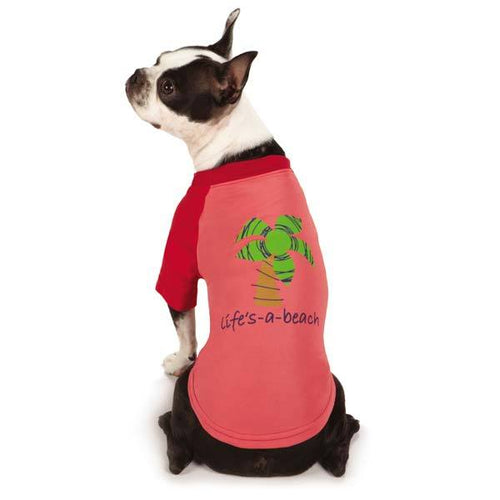 Zack and Zoey Under the Sea SPF40 Beach Dog T-Shirt