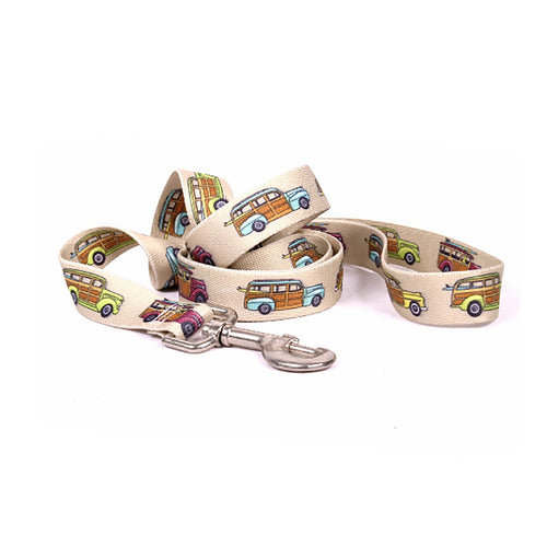 Woodies Dog Leash by Yellow Dog