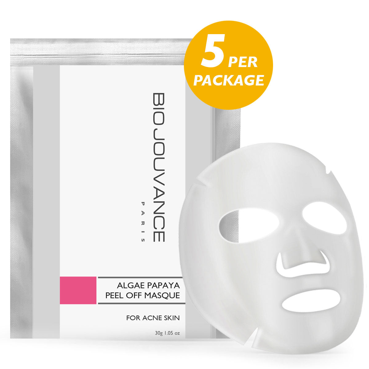 Papaya Peel-Off Masque 5/PKG (Professional)