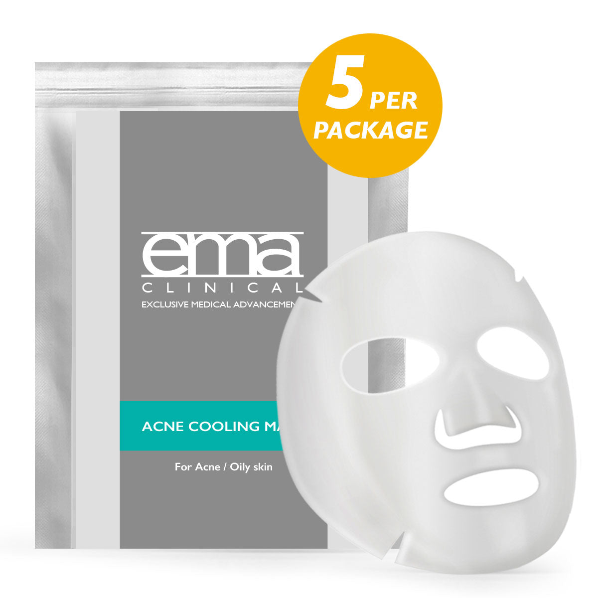 Acne Cooling/Healing Mask 5/PKG