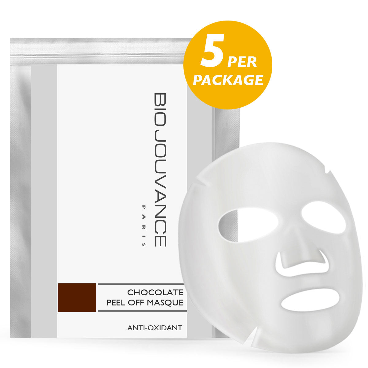 Antioxidant Chocolate Peel Off Masque