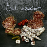 Assortiment Saucisse sèche, Saucisson nature, Saucisson au Beaufort - Apéro