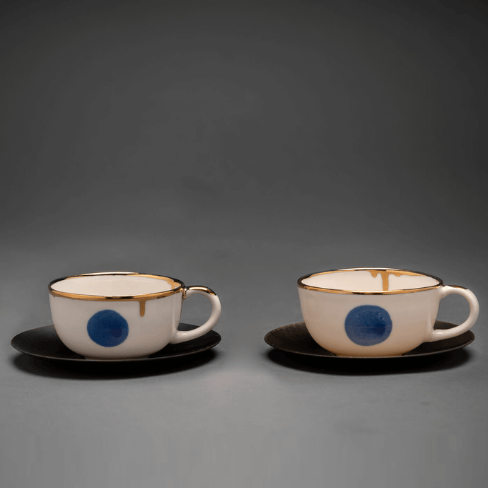 Belief coffee set, 2pc