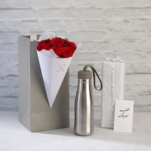 Active Bottle with Roses