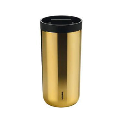 To Go Cup Brass