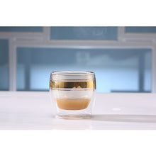 Gold Coffee Glass, 6 pcs.