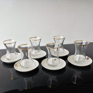 Gold Tea Set